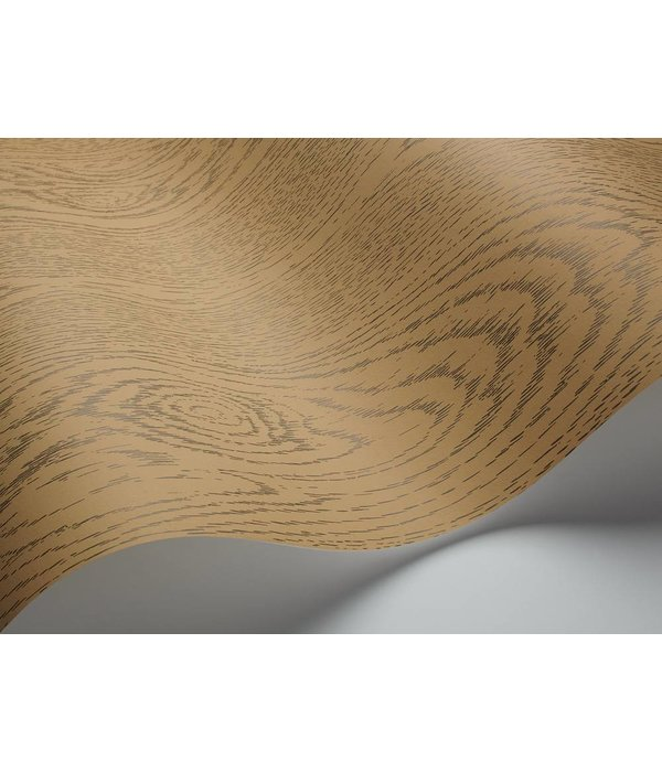 Cole-Son Wood Grain Goud En Grijs 92/5023 Behang