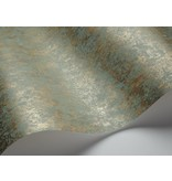 Cole-Son Salvage Blauw En Metallic Goud 92/11053 Wallpaper