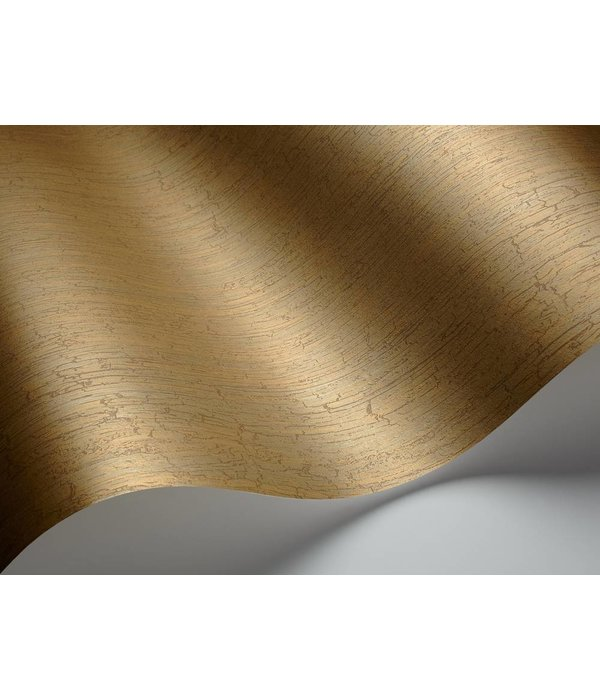 Cole-Son Crackle Metallic Goud En Bruin 92/1006 Behang