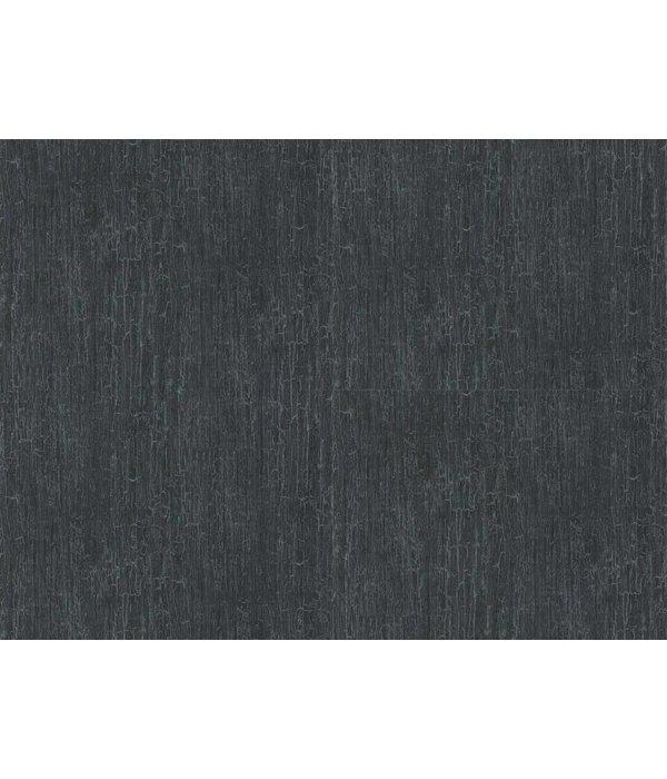 Cole-Son Crackle Donkerblauw En Zilver 92/1004 Behang