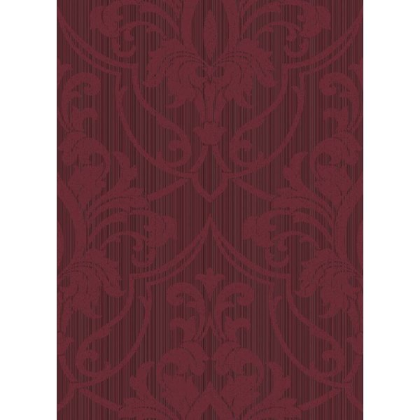 ST. PETERSBURG DAMASK Rood Mat En Glans 88/8035