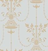 Cole-Son DORSET Lichtblauw En Goud 88/7031 Wallpaper