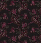 Cole-Son HARTFORD Zwart En Donkerroze Met Glans 88/4016 Wallpaper