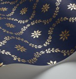 Cole-Son CLANDON Donkerblauw En Goud 88/3011 Wallpaper