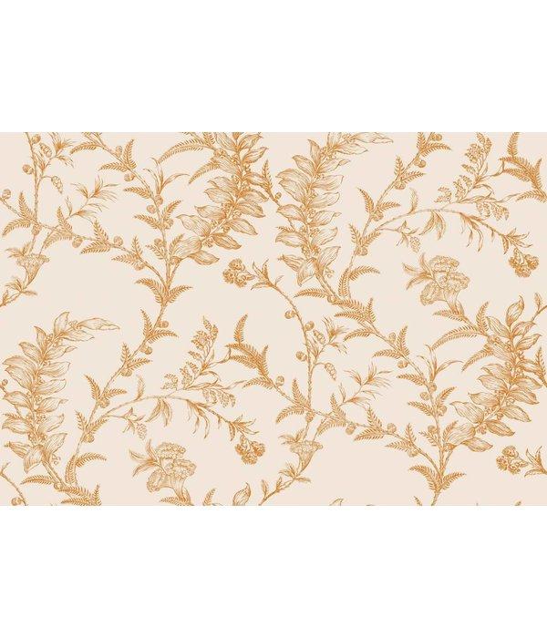 Ludlow beige en goud 88 1003 de mooiste muren - Behang zwart en goud ...