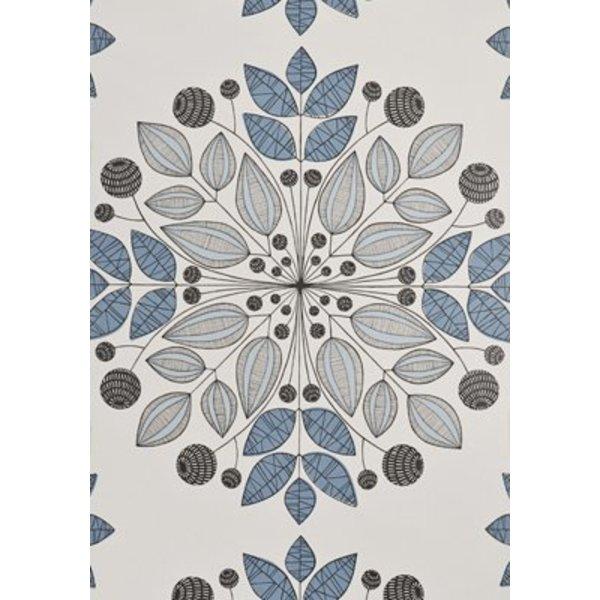 Kaleidoscope Wallpaper Blues MISP1091
