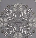 Miss-Print Kaleidoscope Wallpaper Ash MISP1093 Wallpaper