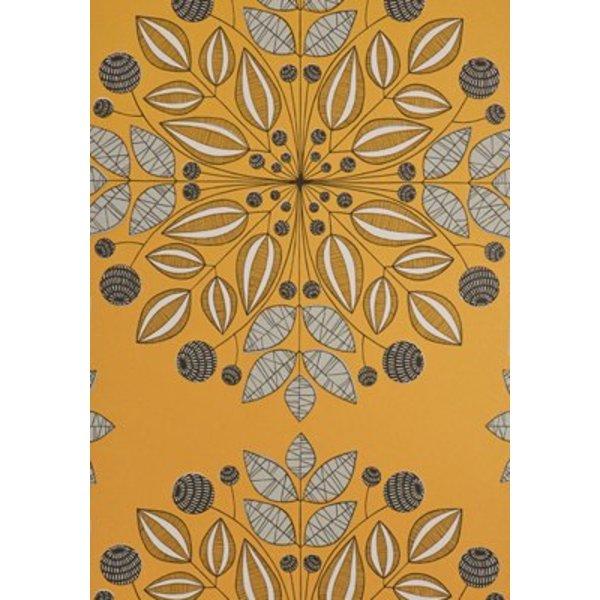 Kaleidoscope Wallpaper Pumpkin MISP1095