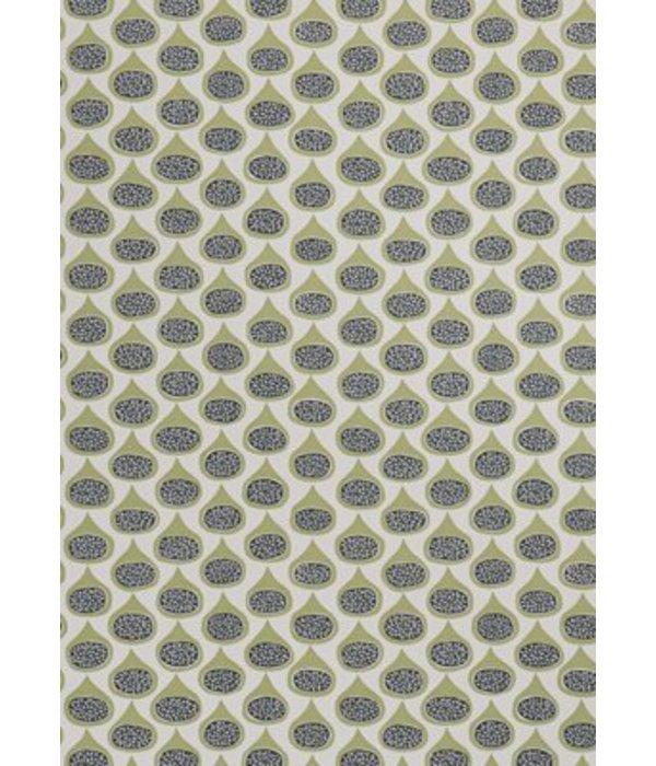 Miss-Print Figs Wallpaper Olive MISP1097 Wallpaper