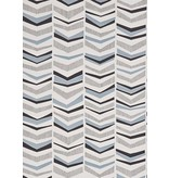 Miss-Print Chevron Wallpaper Bluebird MISP1103 Behang