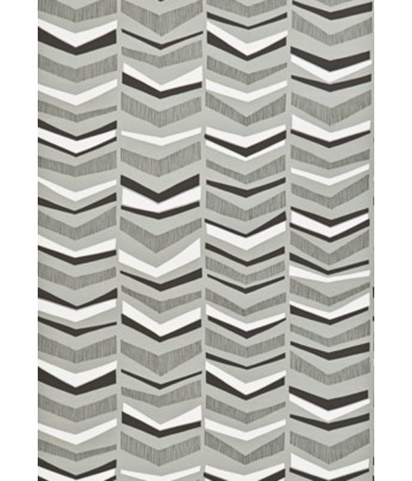 Miss-Print Chevron Wallpaper Greystone MISP1105 Wallpaper