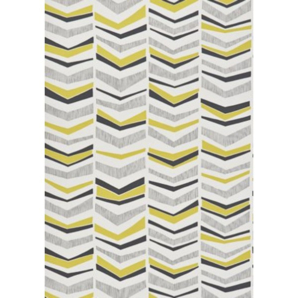 Chevron Wallpaper Mustard Flower MISP1107