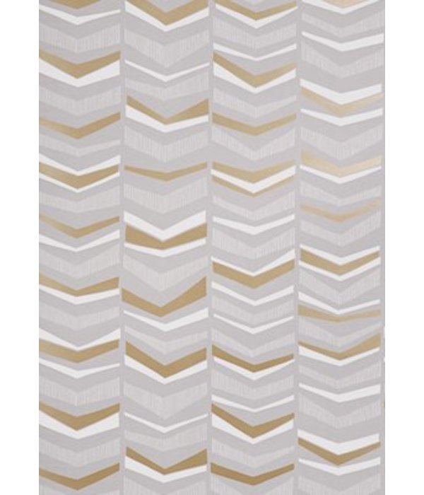 Miss-Print Chevron Wallpaper Humbug MISP1106 Wallpaper