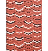 Miss-Print Chevron Wallpaper Berry MISP1104 Behang