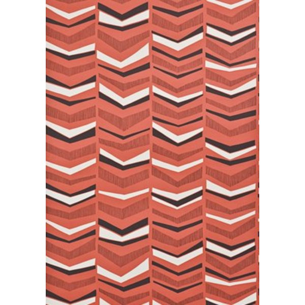 Chevron Wallpaper Berry MISP1104