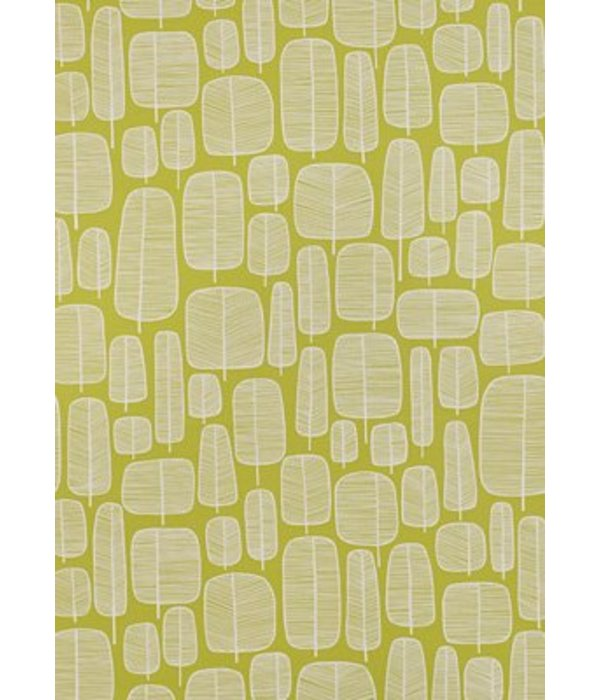 Miss-Print Little Trees Wallpaper Moss MISP1043