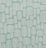 Miss-Print Little Trees Wallpaper Aquamarine MISP1045