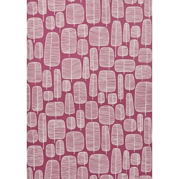 Little Trees Wallpaper Fuchsia MISP1113