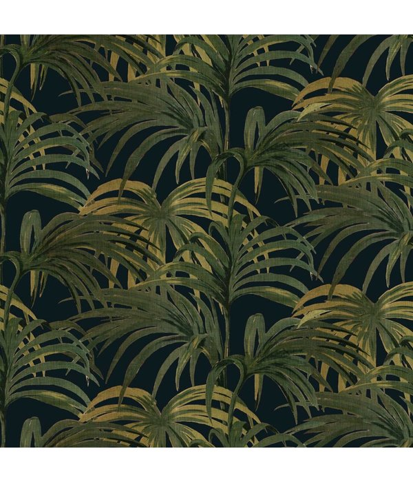 House-of-Hackney PALMERAL WALLPAPER MIDNIGHT / GREEN H403-4_N