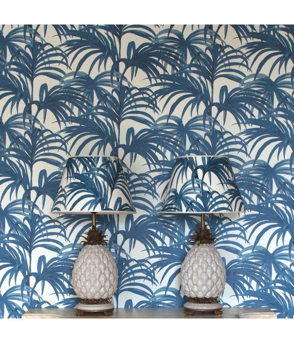 House-of-Hackney PALMERAL WALLPAPER OFF WHITE / AZURE H404-4_N