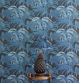 House-of-Hackney PALMERAL WALLPAPER MIDNIGHT / AZURE H401-4_N