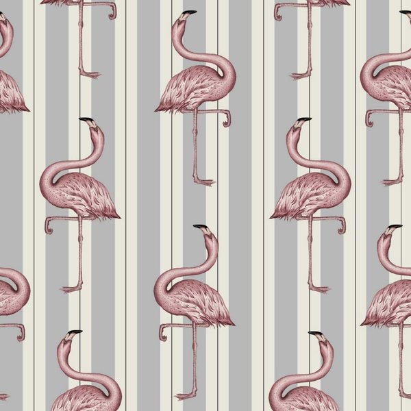 FLAMBOYANCE WALLPAPER OFF WHITE / LAVENDER H2614-3