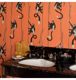 House-of-Hackney TROOP WALLPAPER SALAMANDER ORANGE H2629-3