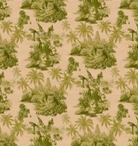 House-of-Hackney SUMATRA WALLPAPER BLUSH / PEAR GREEN H2623-3