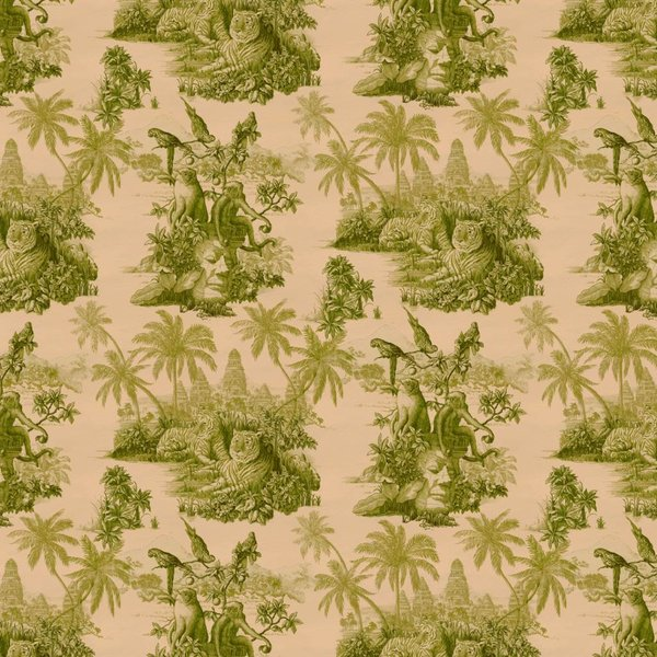 SUMATRA WALLPAPER BLUSH / PEAR GREEN H2623-3