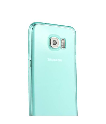 Turquoise Siliconenhoesje Samsung Galaxy S7