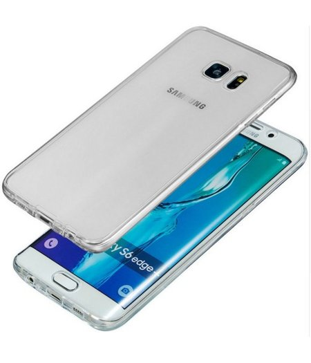 Samsung Galaxy S7 Full protection siliconen transparant voor 100% bescherming