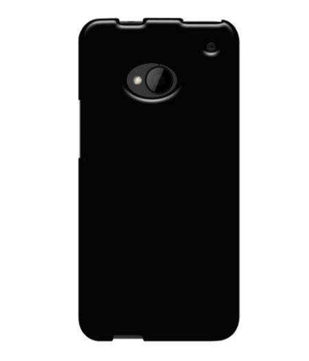 HEM Zwart siliconenhoesje HTC One M7