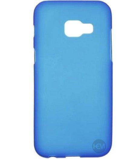 HEM Blauwe Siliconen Gel TPU / Back Cover / hoesje Samsung Galaxy A5 (2017)