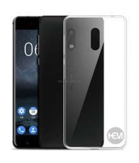 HEM Nokia 3 Hoesje transparant Siliconen Gel TPU / Back Cover