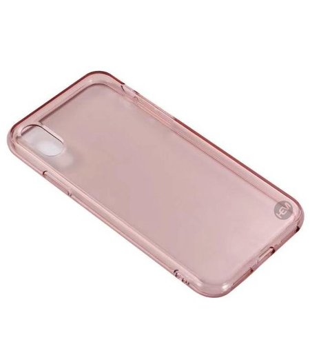 HEM iPhone X/XS Oud Roze Siliconen Gel TPU / Back Cover / Hoesje iPhone X/XS