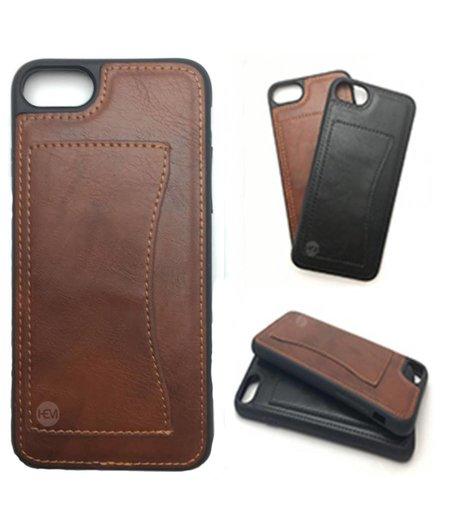 HEM iPhone 6/6S  Luxe Backcover bruin /  Telefoonhoesje / Hoesje met vakje voor pasje