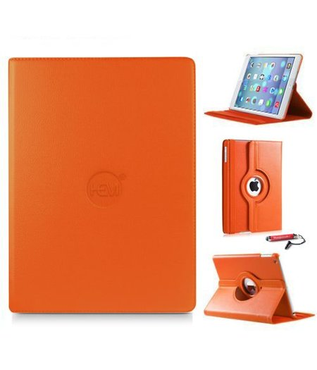 HEM iPad Air 2 hoes HEM oranje hoesjes Apple iPad Air 2 oranje / hoesje iPad Air 2 uitschuifbare hoesjesweb touchscreenpen