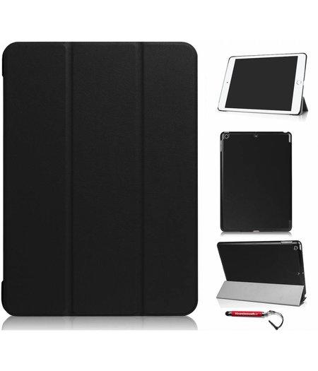 HEM hoes ipad 2017 9.7 NEWSmart Cover zwart / Vouw hoesje Apple iPad 2017 / Vouw hoesje iPad 2017 / Inclusief handige uitschuifbare Hoesjesweb Stylus Pen