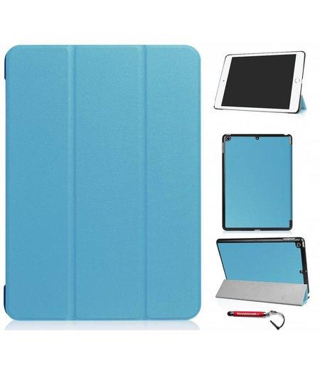 HEM hoes ipad 2017 9.7 NEWSmart Cover blauw / Vouw hoesje Apple iPad 2017 / Vouw hoesje iPad 2017 / Inclusief handige uitschuifbare Hoesjesweb Stylus Pen