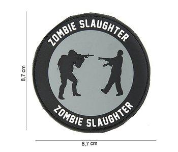 101Inc. PVC Patch  Walker Butcher Zwart Rond