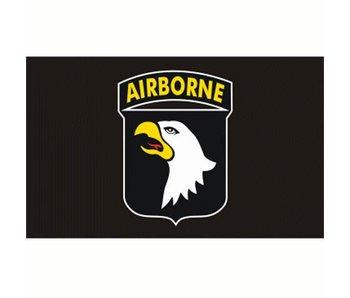 Fosco Vlag Airborne 101e div zwart