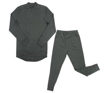 Fostex Thermo Ondergoed Set - Groen / Zwart / Wit