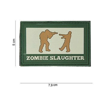 101Inc. PVC Patch  Zombie Slaughter Multi