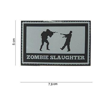 101Inc. PVC Patch  Zombie Slaughter Zwart
