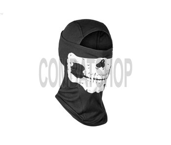 Invader Gear MPS Death Head Balaclava Black