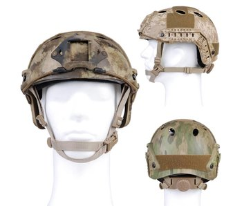 Emerson Fast Helmet A-TACS AU, FG & Desert