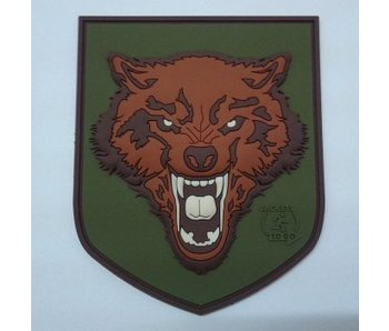 JTG Wolf Patch, fullcolor