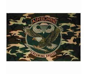 Fosco Vlag Airborne Screaming Eagles
