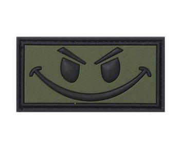 PVC Patch  Evil Smiley OD patch