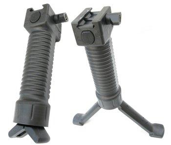 Battle Axe Tactical Bipod Grip - Black